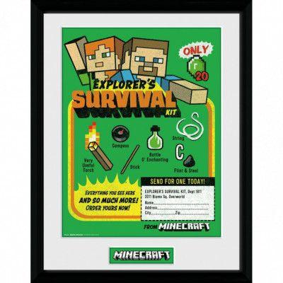Minecraft - Tavla, Survival kit