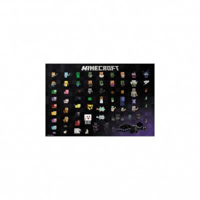 Minecraft, Maxi Poster - Pixel Sprites