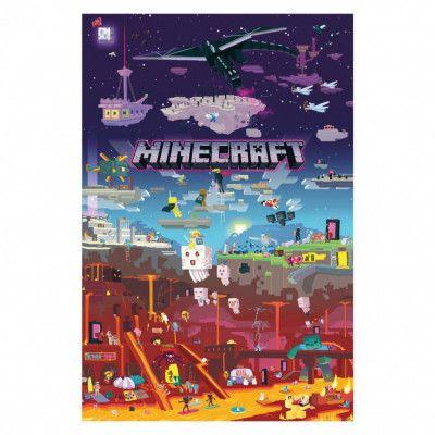 Minecraft, Maxi Poster - World Beyond