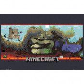 Minecraft Underground Poster
