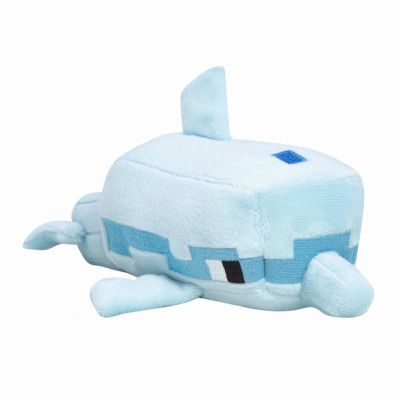 Minecraft, Gosedjur / Mjukisdjur - Delfin (20 cm)