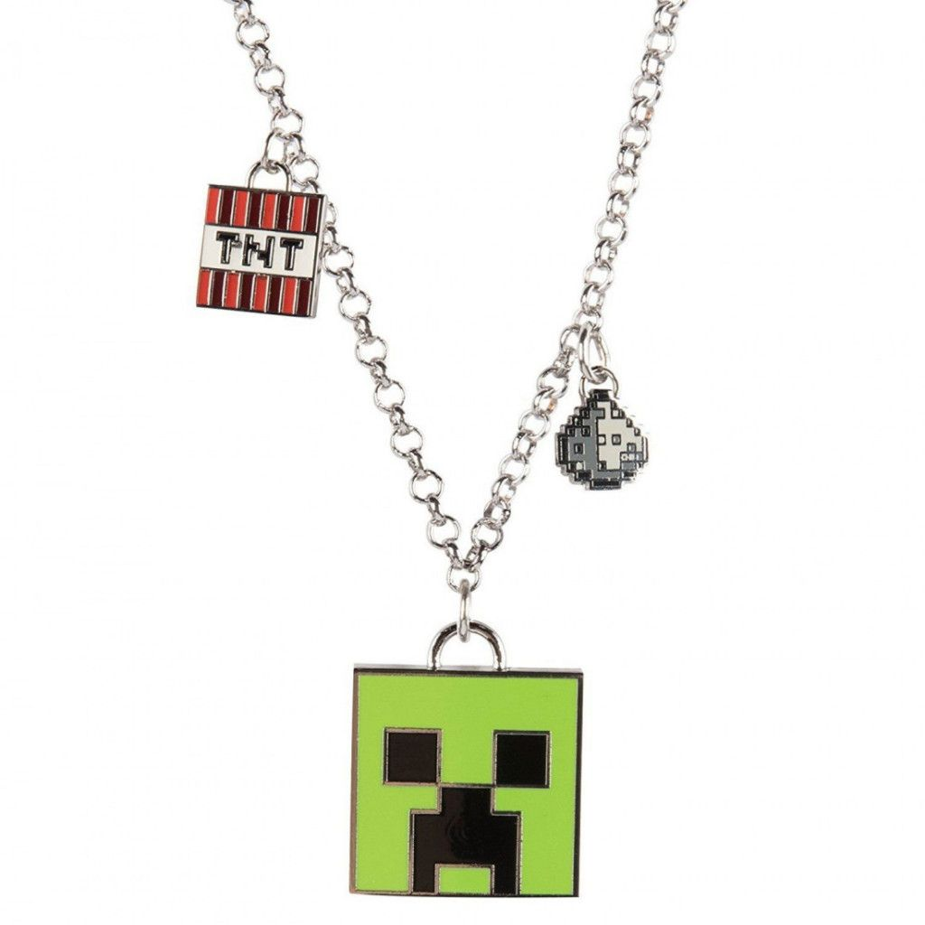 Minecraft, Halsband Enchanted Creeper Minecraftbutiken.se
