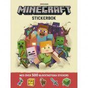 Kärnan Minecraft - Pysselbok med klistermärken