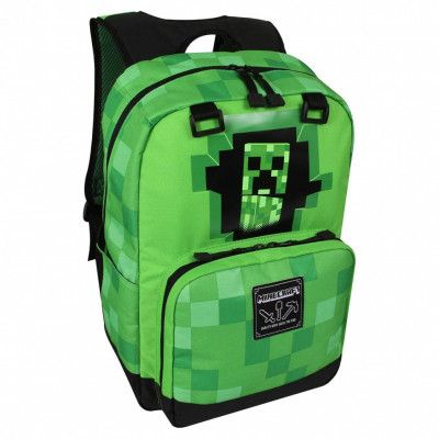 Minecraft, Ryggsäck - Creepy Creeper
