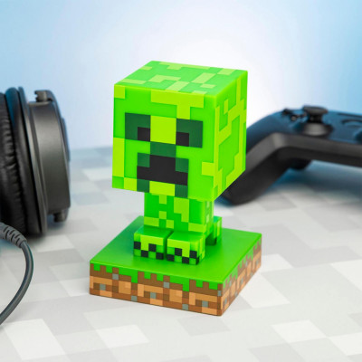 Minecraft, Icon Light - Creeper