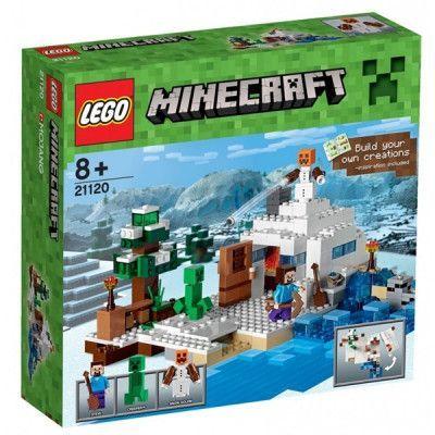 LEGO Minecraft 21120, Gömstället i snön
