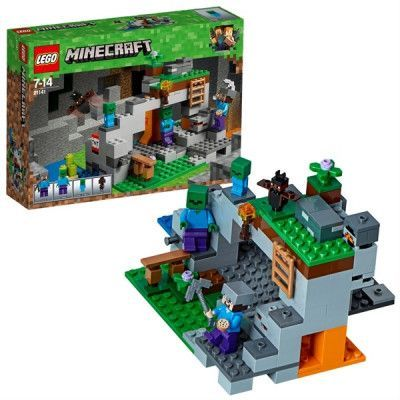 LEGO Minecraft 21141, Zombiegrottan