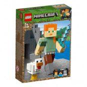 LEGO Minecraft 21149 - BigFig Alex med kyckling