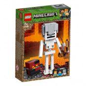 LEGO Minecraft 21150 - BigFig skelett med magmakub