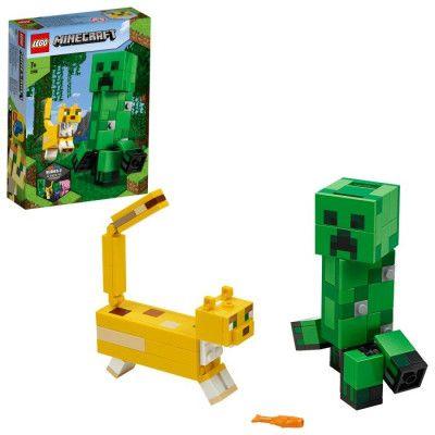 LEGO Minecraft 21156 BigFig Creeper™ och ozelot