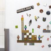 Minecraft Kylskåpsmagneter