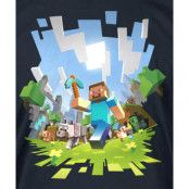 Minecraft Adventure Barn T-shirt