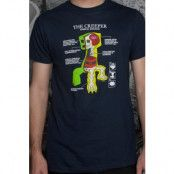 Minecraft Creeper Anatomy T-shirt