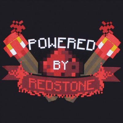 Minecraft Powered By Redstone T-Shirt