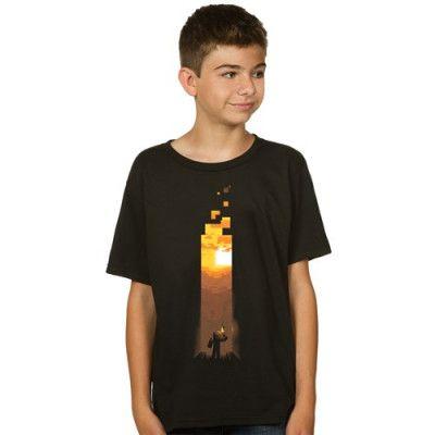 Minecraft Torch T-shirt Barn