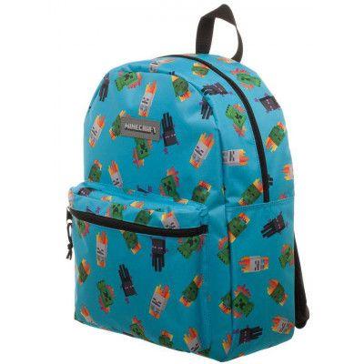 Minecraft - Backpack Enemy Print